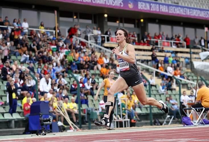 Bild zur News Para-Leichtathletik-WM: Irmgard Bensusan gewinnt die 200m in Dubai