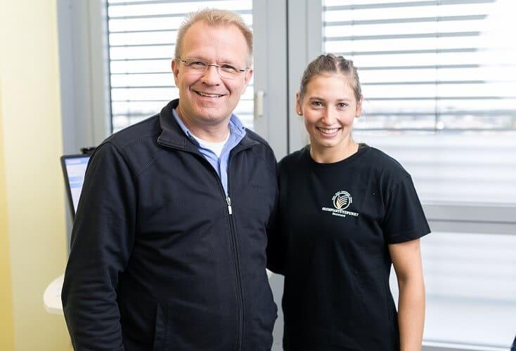 Prof. Dr. med. Oliver Tobolski und Victoria von Eynatten