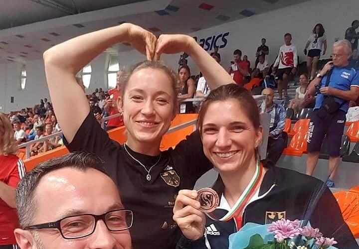 Nadine Apetz gewinnt die Bronzemedaille bei der EM in Sofia