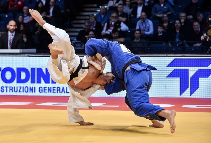 Judoka Johannes Frey in Aktion (Archivbild: picture alliance)