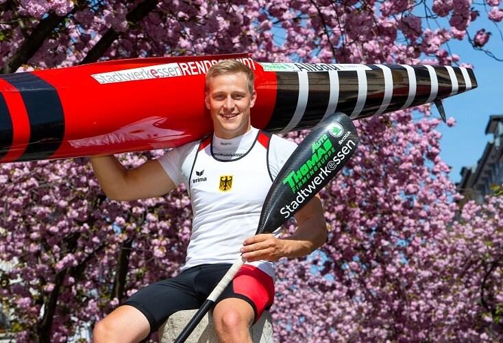 Max Rendschmidt geht im Einer-Kajak bei der WM an den Start