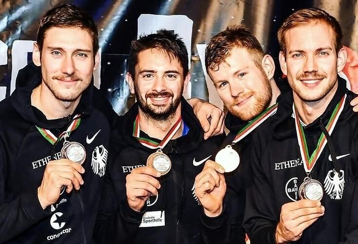 Fechten: Säbelherren zum Saisonauftakt mit Team-Medaille