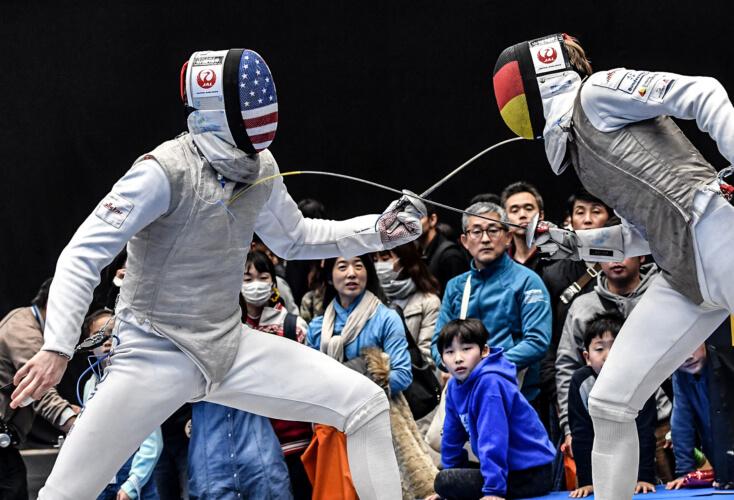 Peter Joppich (rechts) mit Top-Ten-Platzierung in Tokio (Bild: Augusto Bizzi)