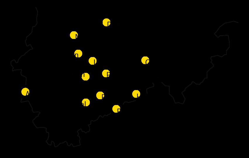 Umriss Westfalen