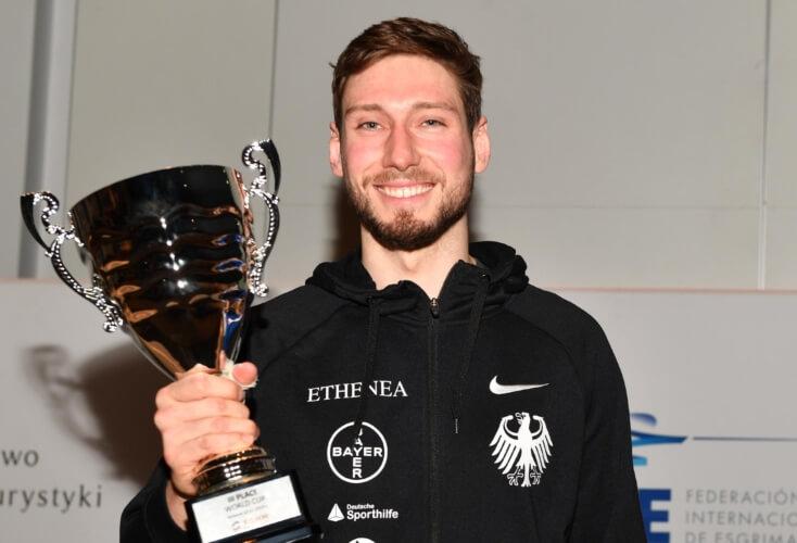 Max Hartung holt Bronze in Warschau (Bild: Augusto Bizzi)