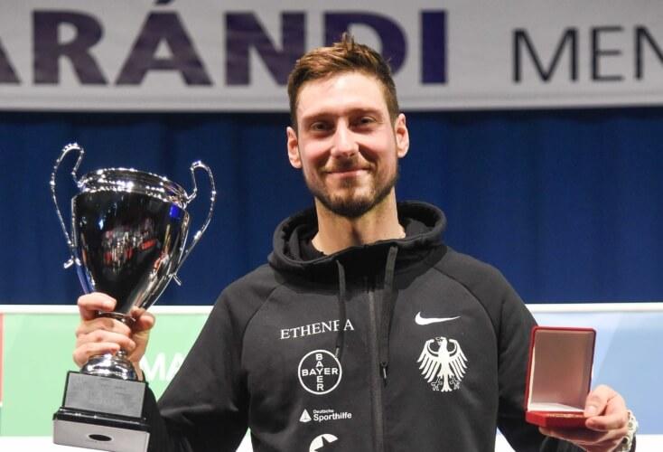 Säbelfechten: Max Hartung holt sich Weltcup-Sieg in Budapest