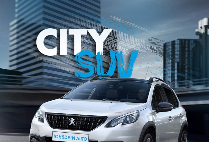 Dein City SUV: Der Peugeot 2008!