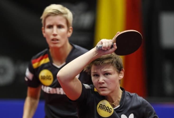 Starkes OSP-Doppel: Nina Mittelham und Kristin Lang (Archivbild: picture alliance)
