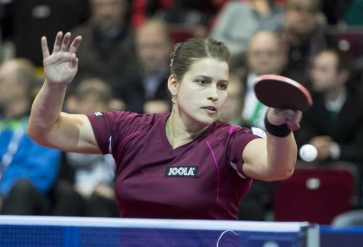 OSP-Athletin Petrissa Solja vom Bundesstützpunkt Düsseldorf (Bild: picture alliance)