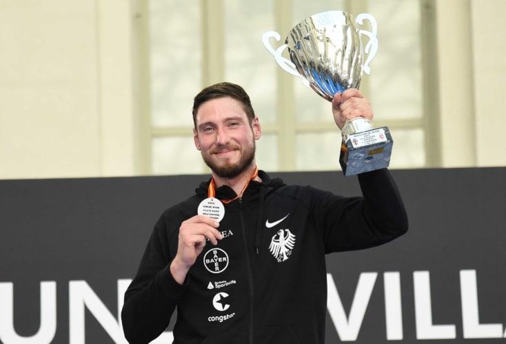Max Hartung gewinnt Säbel-Weltcup in Madrid (Foto: Team Bizzi)