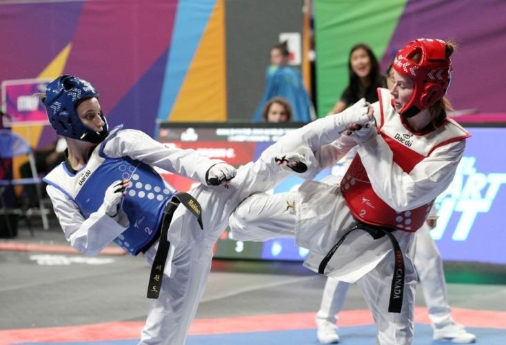 Bild zur News Taekwondo: Madeline Folgmann belegt Platz 9 bei der WM in Manchester