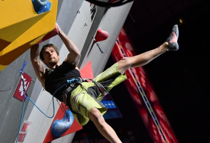 Alles im Griff: OSP-Kletterer Jan Hojer aus Frechen (Bild: picture alliance)