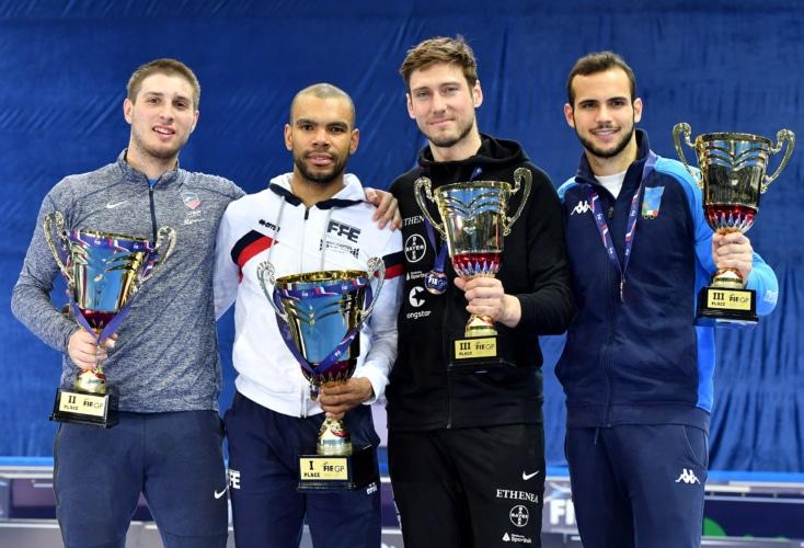 Max Hartung gewinnt Bronze beim Grandprix in Moskau (Bild: Augusto Bizzi)