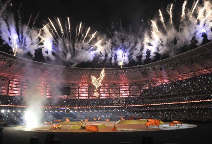 Die ersten Europaspiele in Baku begeisterten nicht nur die deutschen Athletinnen und Athletinnen (Bild: picture alliance).