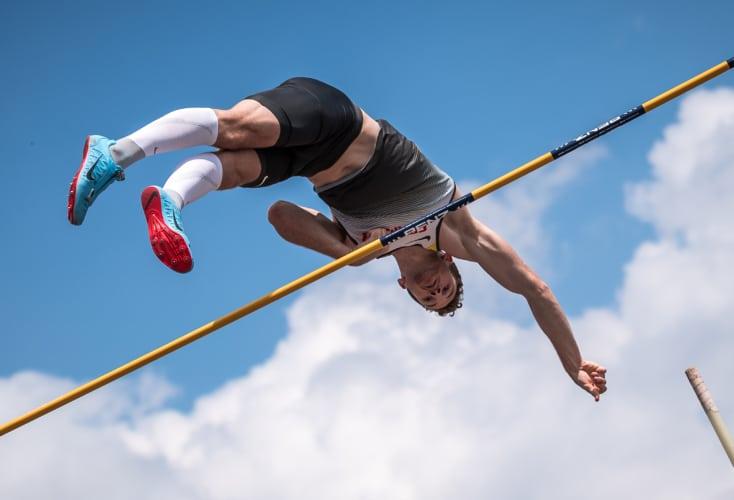Bild zur News Universiade: Stabhochspringer Torben Blech fliegt zu Silber