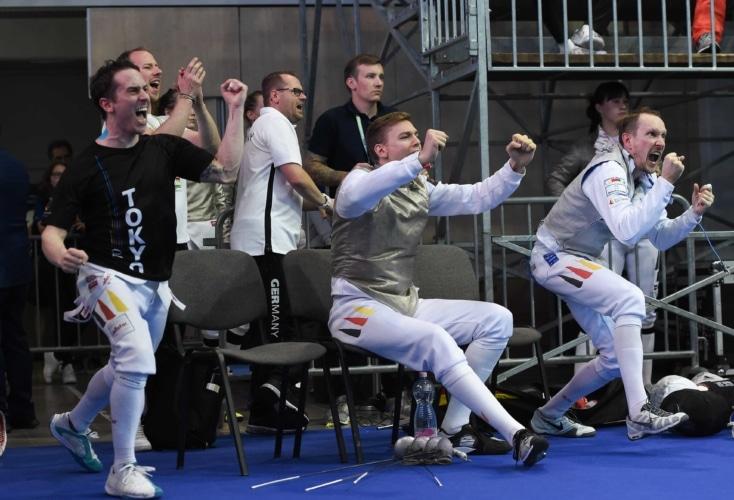 Die Florettherren stehen im WM-Viertelfinale (Bild: Augusto Bizzi)