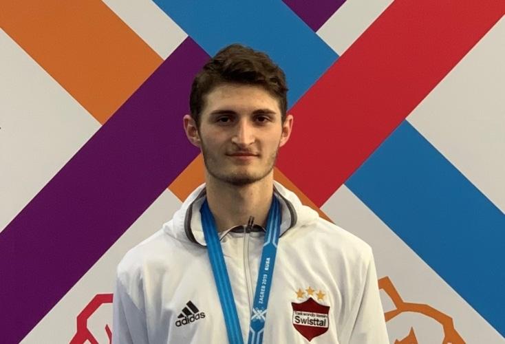 Bild zur News Taekwondo: Martin Stach gewinnt Bronze bei den Studenten-Europaspielen