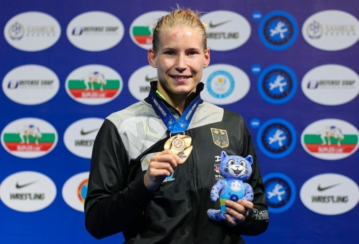 WM-Bronze und Olympia-Ticket für OSP-Athletin Aline Rotter-Focken (Bild: picture alliance)