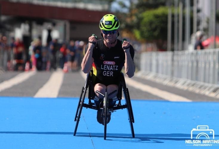 Para-Triathlet Benjamin Lenatz (Bild: Nelson Martins Photography)