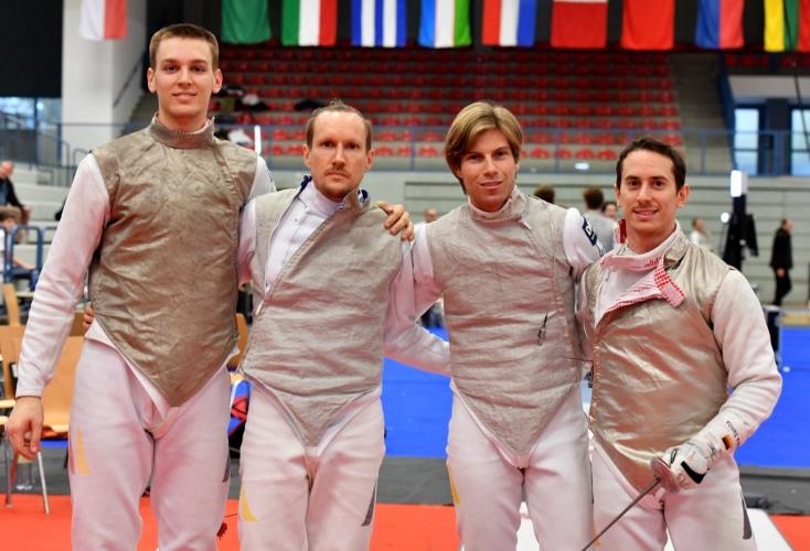 Bild zur News Fechten: Platz 7 für Kleibrink, Platz 8 für das Florett-Team beim Heim-Weltcup in Bonn