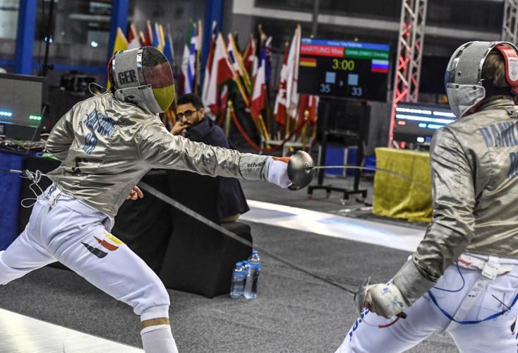 Die deutschen Säbelherren platzierten sich beim Teamwettbewerb des Weltcups in Kairo auf Rang fünf (Foto: Augusto Bizzi).