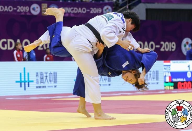 Anna Maria Wagner gewinnt bronze in Qingdao (Bild: IJF/Emanuele Di Feliciantonio)