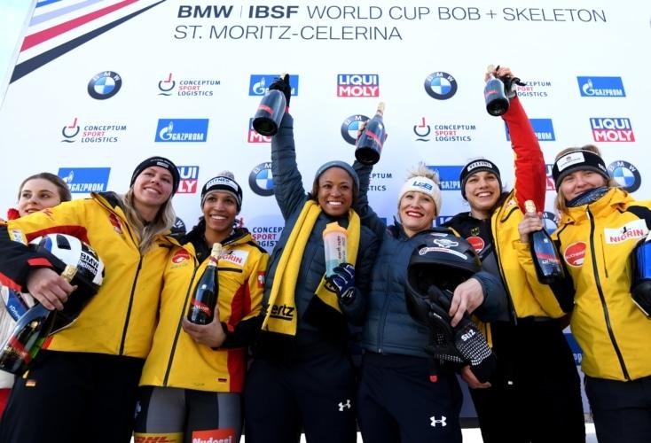 Bild zur News Bobsport: OSP-Athletin Leonie Fiebig im Weltcup zweimal auf dem Podest