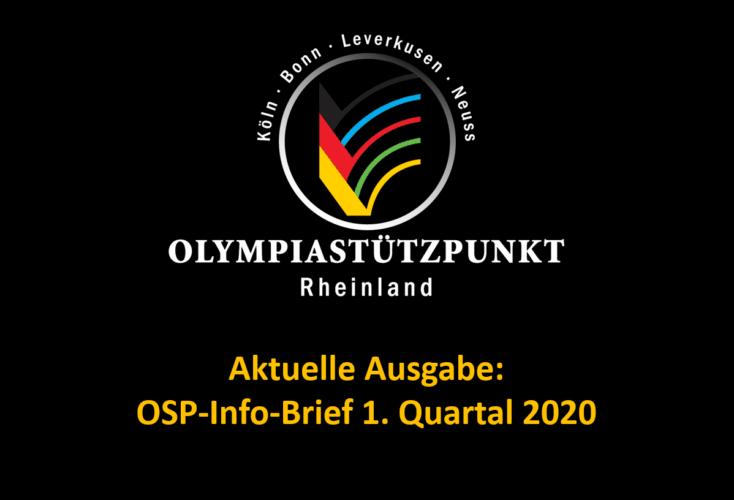 Bild zur News Aktuelle Ausgabe: OSP-Info-Brief 1. Quartal 2020