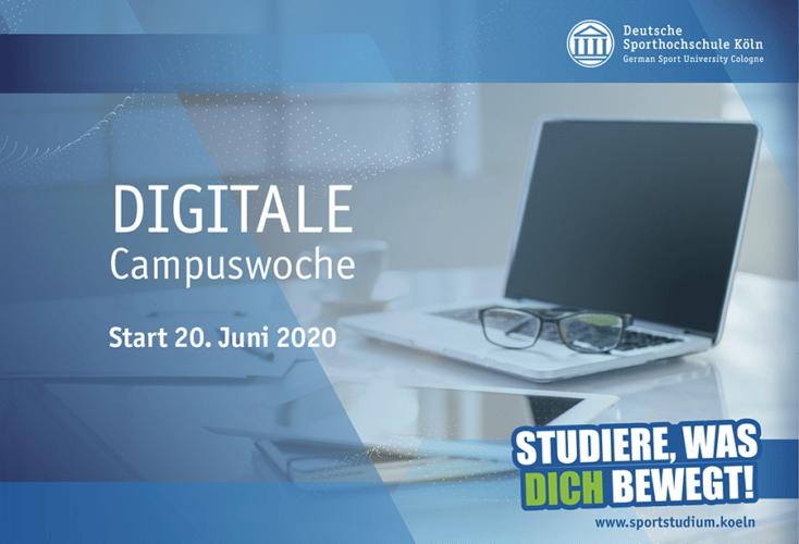 Bild zur News Deutsche Sporthochschule Köln: Einladung zur digitalen Campuswoche