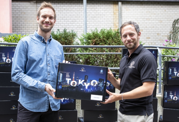 Bild zur News OSP-Überraschungs-Paket läutet den neuen Countdown für TOKYO 2020 ein