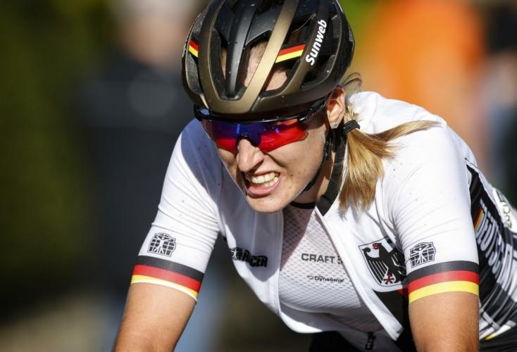 Franziska Koch beim Strassenrennen der Rad-WM 2019 (Bild: picture alliance)