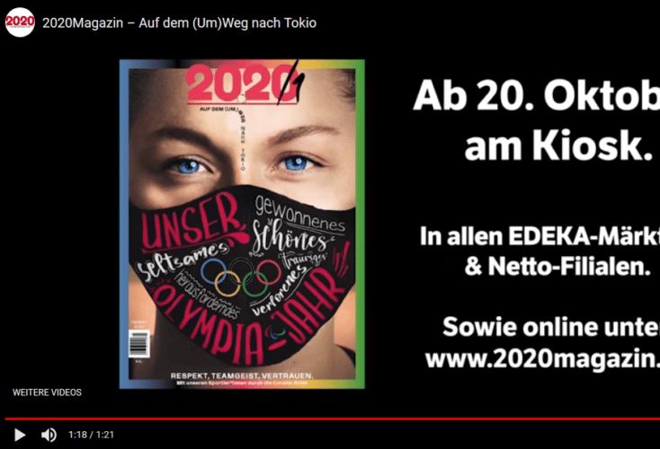 """""""20.20 – auf dem (Um)Weg nach Tokio"""": Jetzt im Online-Shop und am Kiosk erhältlich"""