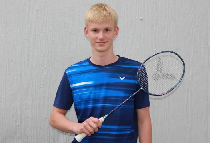 Nachwuchs-Ass im Badminton: Til Gatzsche