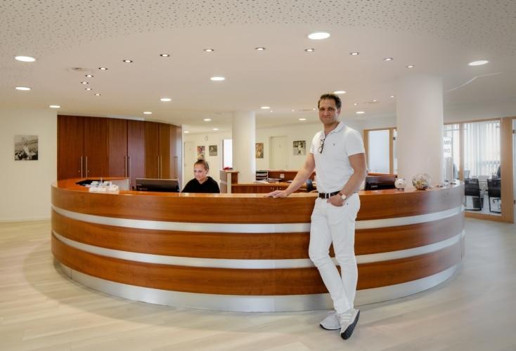 Neuer Kooperationspartner Medizin: Orthopädie im MediaPark (Bild: Rebecca Peetz)
