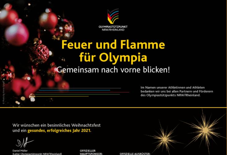 Bild zur News Frohe Weihnachten und einen guten Start ins Olympia-Jahr 2021