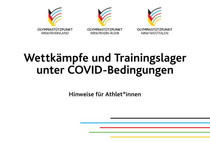 Wettkämpfe und Trainingslager unter COVID-Bedingungen: Handout der OSP-Sportpsychologie für Athlet*innen