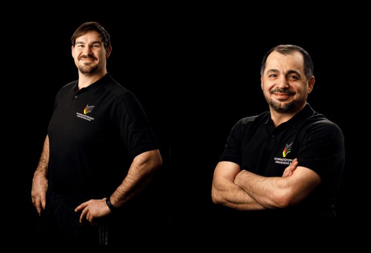 Verstärkung für das OSP-Trainer-Team: Andreas Tölzer (links) und Sevket Karapinar.