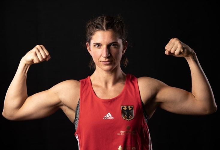 OSP-Boxerin Nadine Apetz blickt optimistisch in Richtung Olympia (Bild: Peter Eilers / OSP)