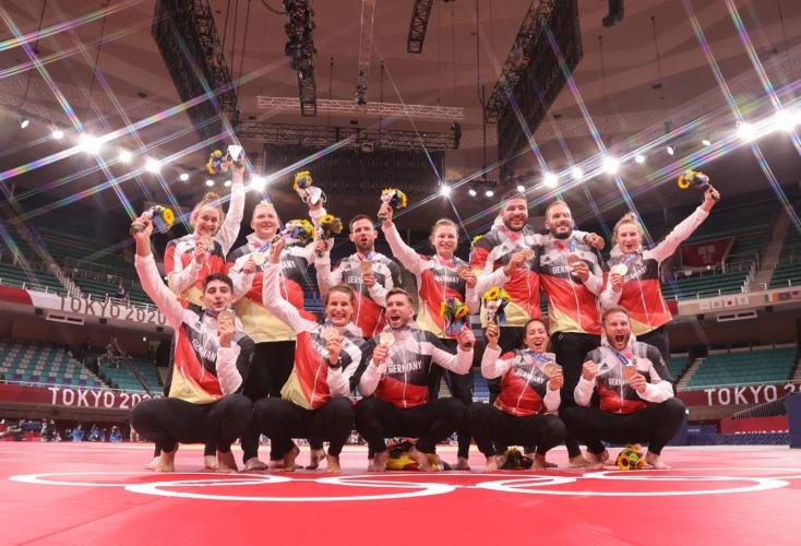 Bild zur News Judo: Bronze für das deutsche Mixed-Team