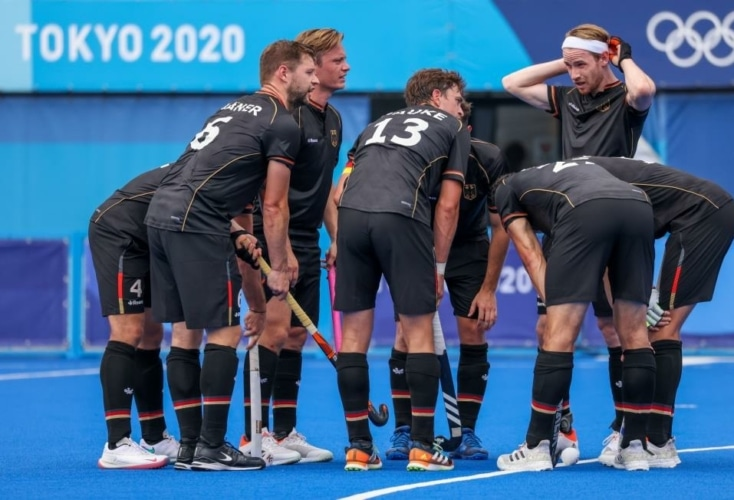 Deutschlands Hockey-Herren auf ihrer Medaillen-Mission bei Olympia (Bild: Picture Alliance)