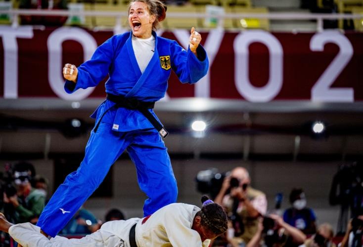 Bild zur News Judo: Anna-Maria Wagner gewinnt die Bronzemedaille