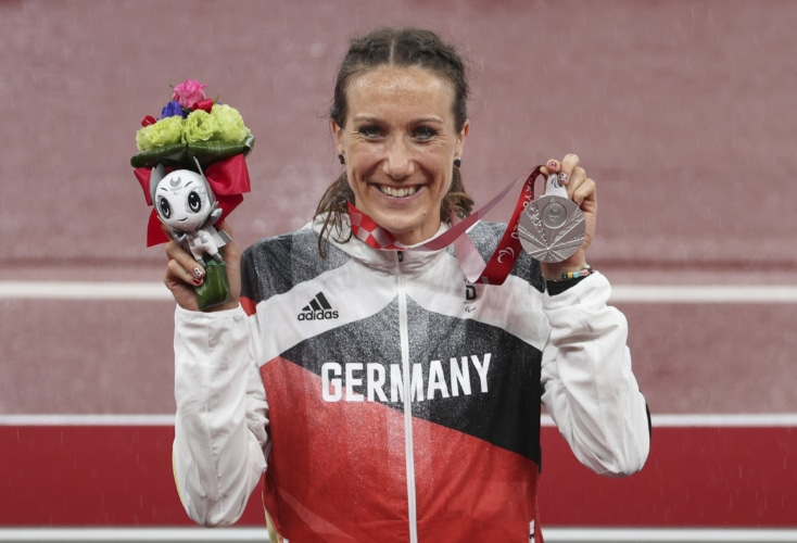 Paralympics-Silber für Irmgard Bensusan über 200m (Bild: Axel Kohring / Beautiful Sports)