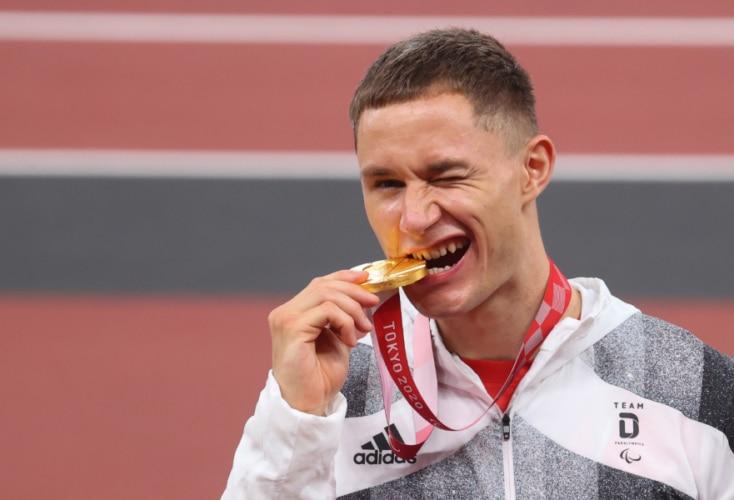 Paralympics-Sieger über 100m: Felix Streng (Bild: Picture Alliance)