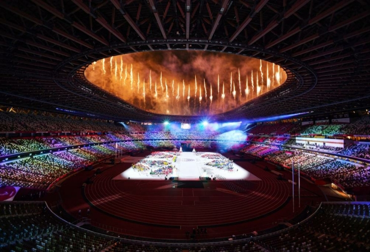 ARIGATO TOKYO - die Paralympics sind mit der offiziellen Abschlussfeier zu Ende gegangen (Bild: Picture Alliance)