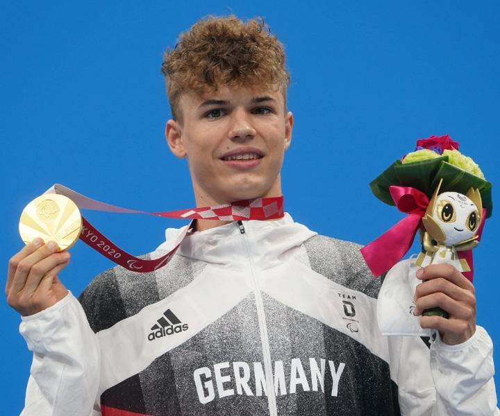 Taliso Engel: Para Schwimmen / 100m Brust