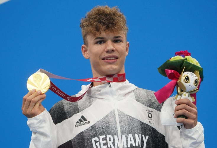 Taliso Engel gewinnt Paralympics-Gold mit Weltrekord (Bild: Picture Alliance)