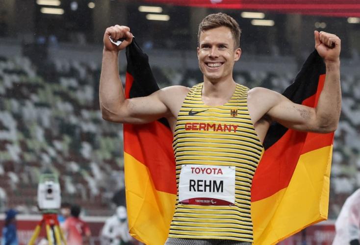 OSP-Weitspringer Markus Rehm gewinnt Gold bei den Paralympics in Tokio (Axel Kohring / Beautiful Sports)